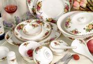 供应骨瓷餐具英国皇家玫瑰