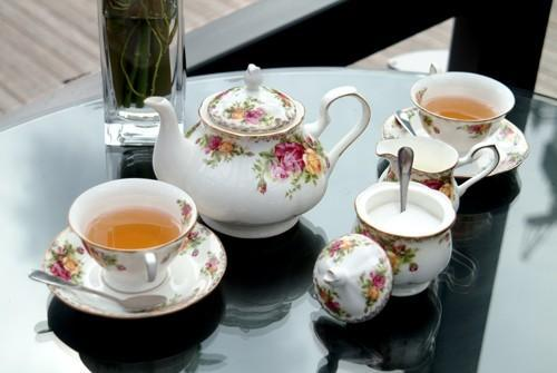 供應骨瓷咖啡具英國皇家玫瑰 1