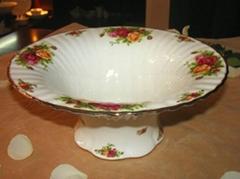 供应骨瓷水果盘
