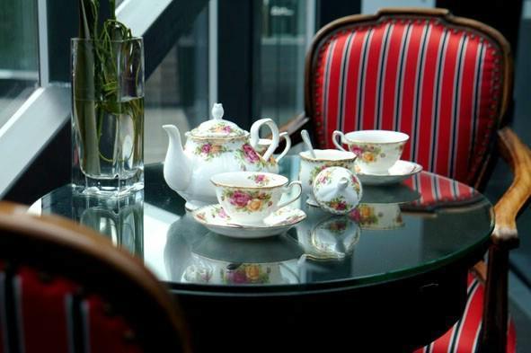 供應骨瓷咖啡具英國皇家玫瑰 2