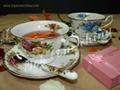 供應骨瓷咖啡具英國皇家玫瑰 3