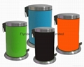 Dustbin With Vaulted Lid