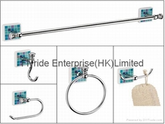 FLRD-BHH BATHROOM FITTINGS(towel ring, towel bar, paper holder)