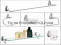 FLRD-BHF BATHROOM FITTINGS(towel bar,glass shelf, soap dish,tumbler & holder)