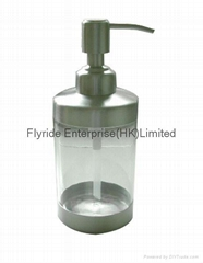 Stainless Steel And Acryl Liquid Soap Dispenser