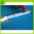 塑膠筆夾開關醫用電筒,筆燈
