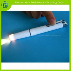 塑胶笔夹开关医用电筒,笔灯