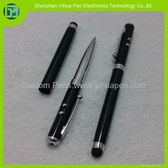 4 in 1 red laser touch pen,laser pen