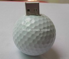 Golf Ball USB Flash Drive USB Stick