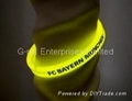 Glow in the Dark Silicone Bracelets; Fluorescent Wristband