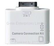 iPad Card Reader Connection Kit 2in1