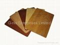Bamboo wood mousepad