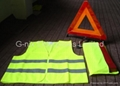Kit of Security ( Safety vest & Triangle )