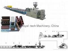 WPC木塑型材生产线