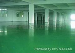 广东环氧树脂防静电地坪