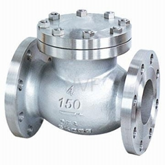 Cast Steel Flanged Check Valve