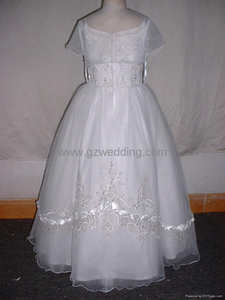 flower girl dress in competitive price  1