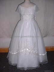 flower girl dress in competitive price
