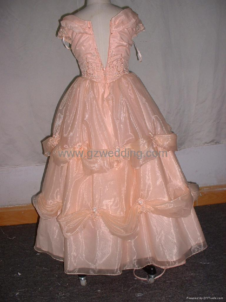 flower girl dress in competitive price  3