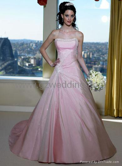 bridal gown/wedding dress/evening gown/flower girl dress - BE16 ...