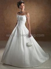 wedding gown /bridemaid dress /prom dress