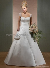 bridal gown /eveing dress/wedding dress