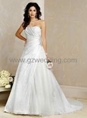 bridal gown /wedding dress/prom dress in China