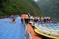 Floating working platform