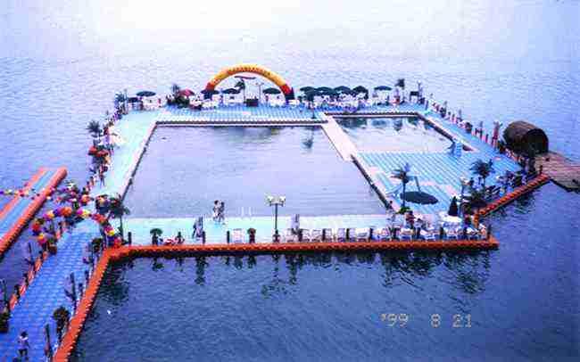 Floating swimming pool - TYPE-A - OYYA (China Manufacturer ...