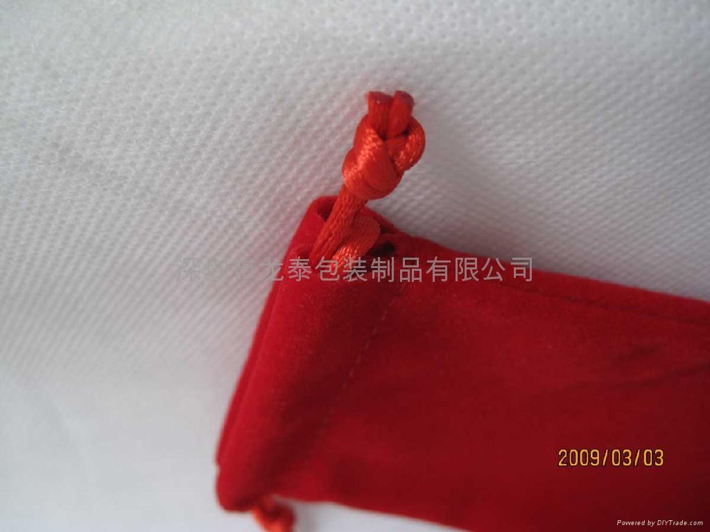 绒布袋  饰口包装袋 5
