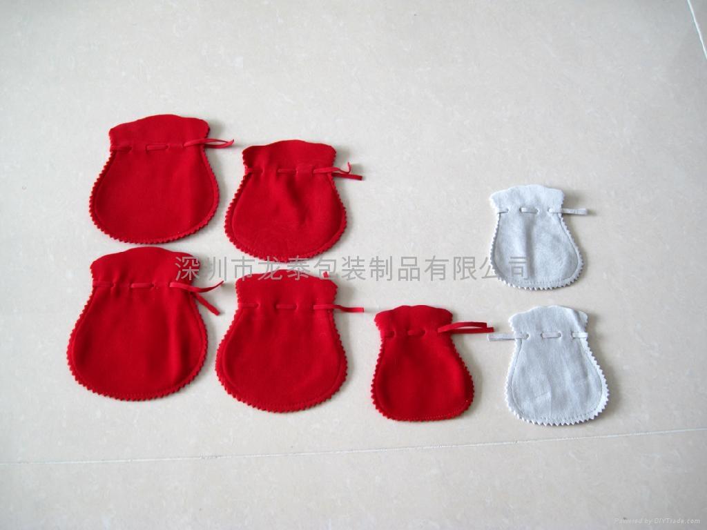绒布袋  饰口包装袋 2