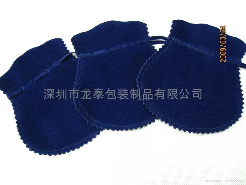 绒布袋  饰口包装袋 3
