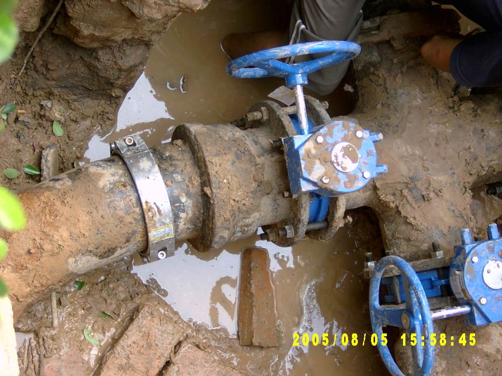 自来水管道修复 1