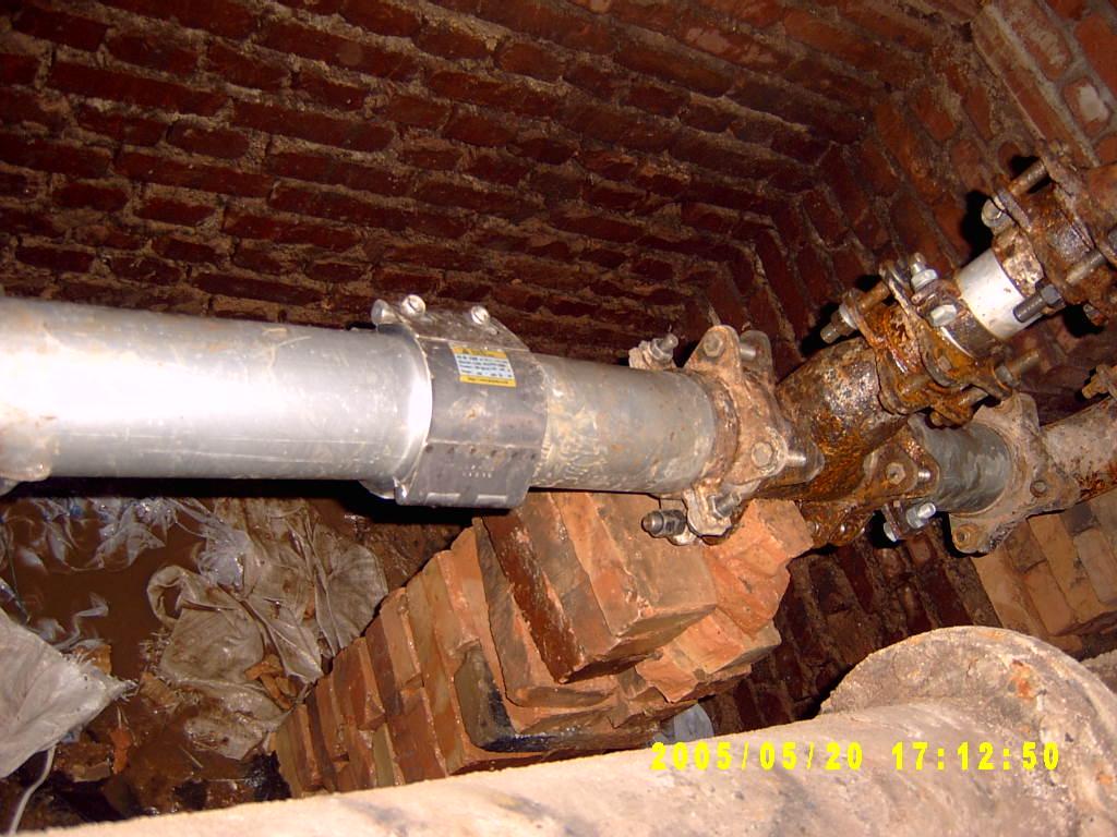 热力管道的修复 1