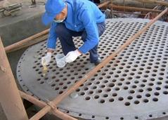换热器管板的修复和防护