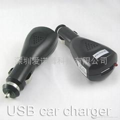 5V 1A usb车用充电器