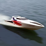 RC Gasoline Power boat