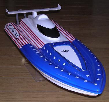 Rc Ep Jet Speed Boat Purple Light Star Purple Light