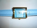 LADY WATCH WITH LEATHER BAND