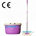 360 QQ THREE DRIVE magic mop with hand press
