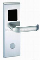 hotel card key lock system
