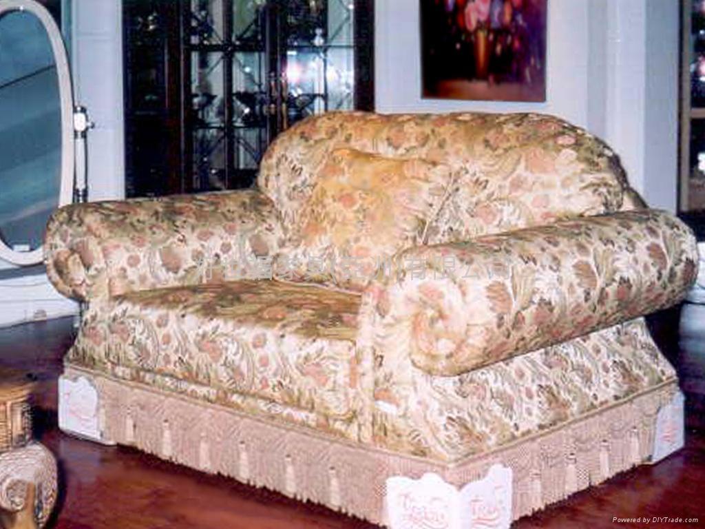 欧式进口布沙发