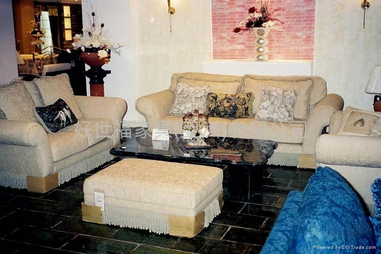 Classic American Fabric Sofa Ff8152c R Harvsfull Hong