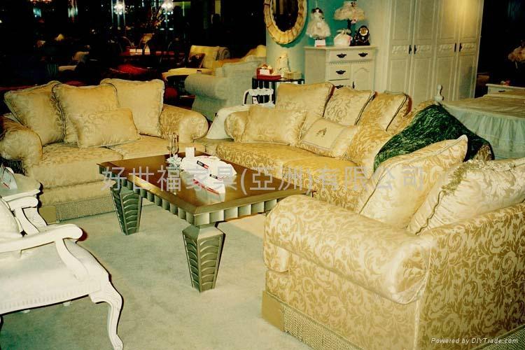 Upscale classic american fabric sofa dd8012m q harvsfull American classic furniture company