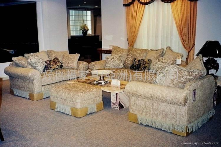 Upscale Luxury American Fabric Sofa BB8082C/Q 1