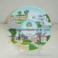 resin tour souvenirs plaque, souvenirs polyresin plaque