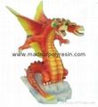 polyresin dragon,resin dragon statue