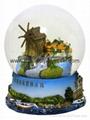 polyresin snow ball,resin water ball,snow globe
