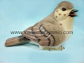 polyresin/polystone fat bird sculpture