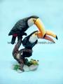 polystone/resin toucan crafts/figurine
